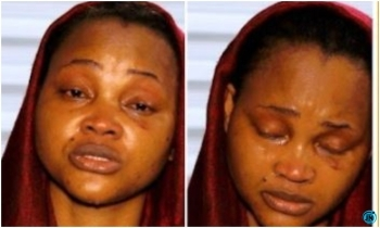 Actress, Mercy Aigbe sheds hot tears as group of ladies shower her with love